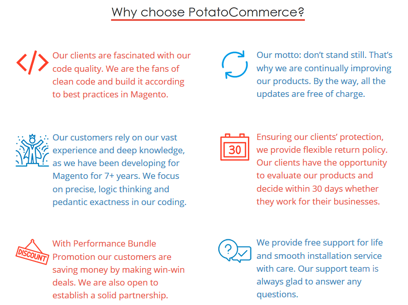 PotatoCommerce - Magento Extensions - Magento Connect Rating
