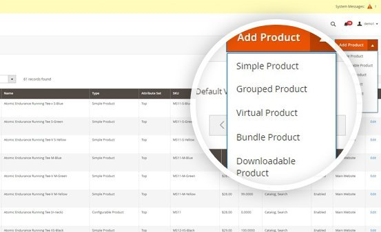 Magento 2 Marketplace Pro compatibility with 5 types of products