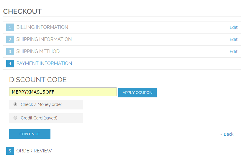 Coupon code magento free product