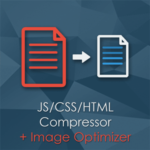 Compressor Magento Extension - Merge, minify and compress CSS & JS files and Images. Better page speed load performance. Less requests, less file sizes.