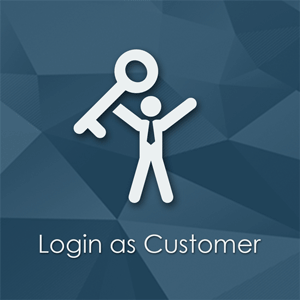 "Login as Customer Magento Extension - Browse website with customer's eyes. Extension allows admin to login into Magento frontend as certain customer from Order or Customer page. Admin permissions for ""Login as Customer"" button."