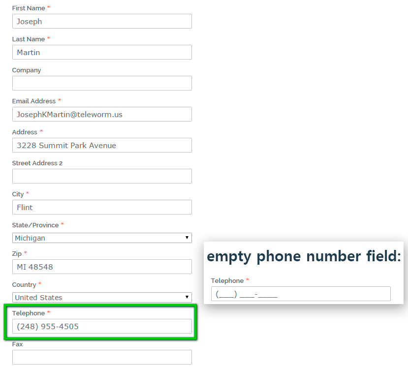 Phone Mask - FREE Magento Extension - phone number input assistant ...