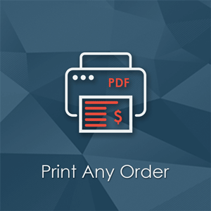 Print Any Order - Magento Extension. Print packing slips - printing pending order without an invoice, mass-action support.