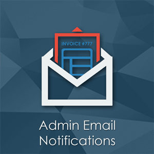 Admin Email Notifications - Magento Extension