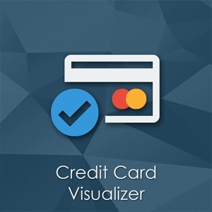 Credit Card Visualizer - Magento Extension by PotatoCommerce - Better Credit Card Form