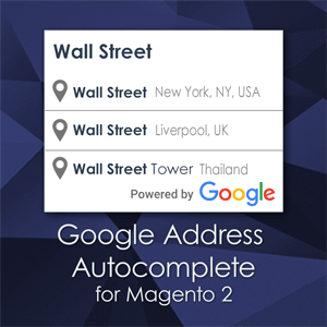Google Address Autocomplete for Magento 2 checkout - Place Autocomplete Address Form