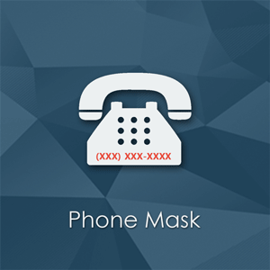 Phone Mask is a simple Magento extension that allows customers to input phone number easier at checkout.