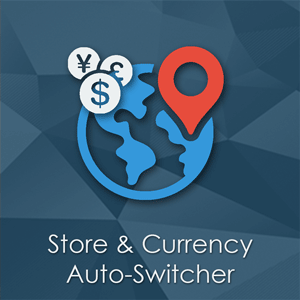 Store and Currency Auto Switcher - Magento extension by PotatoCommerce