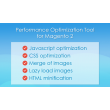 The only solution to optimize JS and CSS files in Magento 2. Improve your Google PageSpeed score.