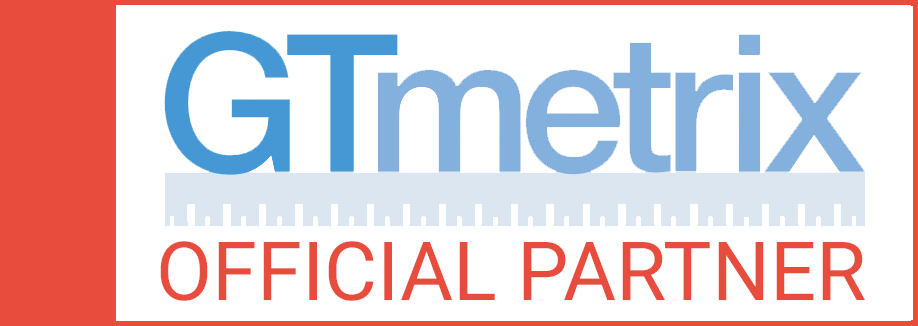 GTmetrix official partner